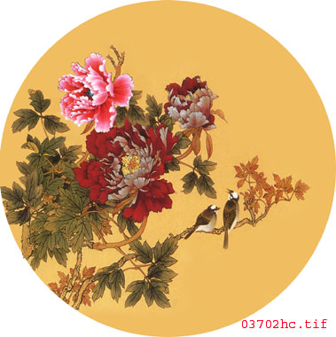 牡丹苏绣图案 手工刺绣图案 中国传统图案